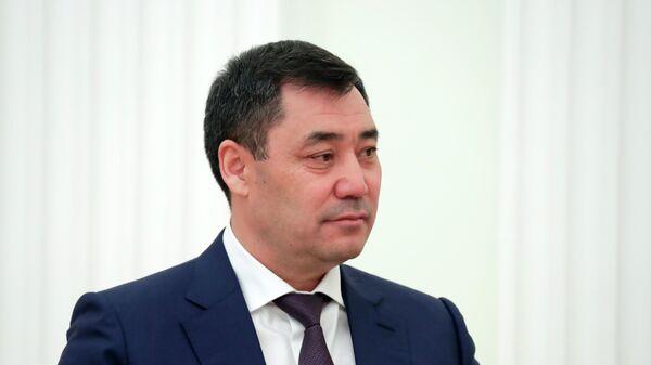 Президент Кыргызстана Садир Жапаров - Sputnik Таджикистан