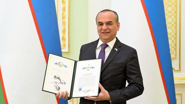 Чрезвычайный и Полномочный посол Таджикистана в Узбекистане Содика Имоми - Sputnik Таджикистан