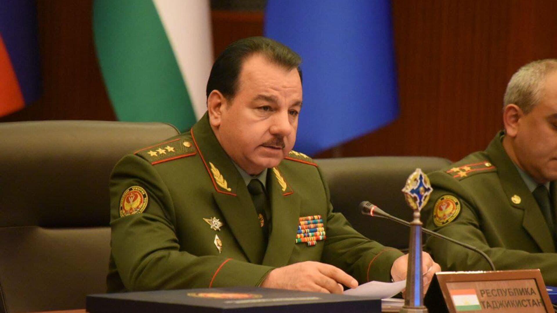 Министр обороны Таджикистана Шерали Мирзо - Sputnik Таджикистан, 1920, 10.08.2021