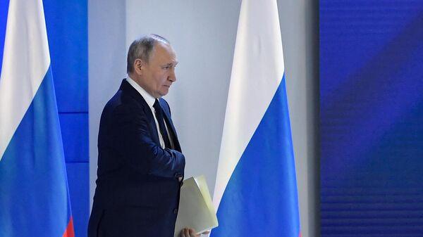 Ежегодное послание президента РФ Федеральному Собранию - Sputnik Тоҷикистон