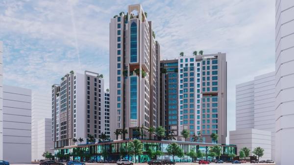Проект комплекса многоэтажных жилых домов по улице Шотемур и Пушкина в Душанбе  - Sputnik Таджикистан