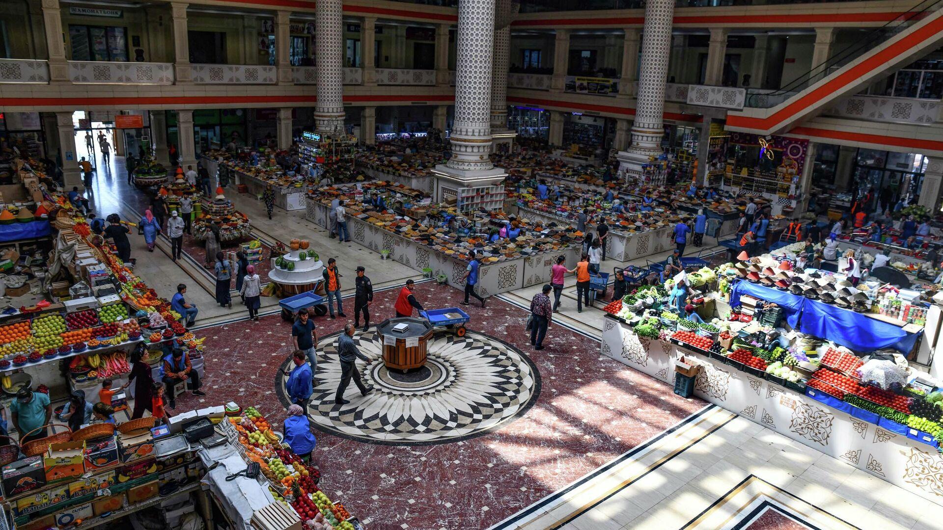 Рынок Мехргон в Душанбе - Sputnik Таджикистан, 1920, 13.06.2021