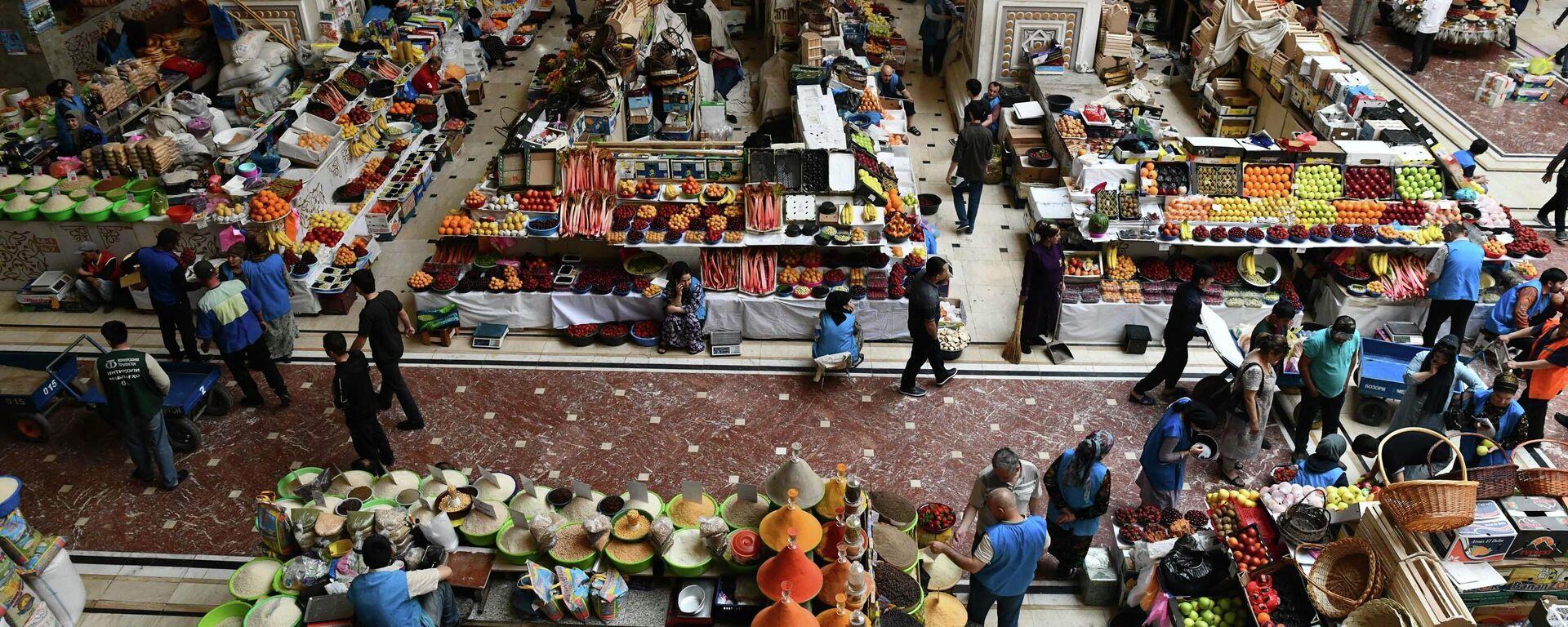 Рынок Мехргон в Душанбе - Sputnik Таджикистан, 1920, 17.09.2021