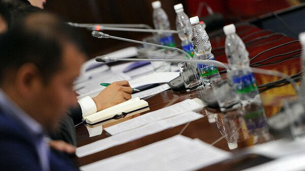 Участники переговоров. Архивное фото - Sputnik Тоҷикистон