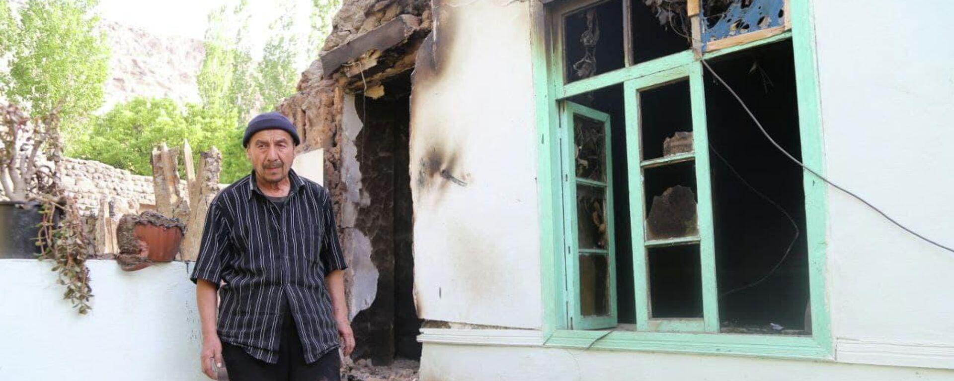 Разрушенные дома в селах Ходжаи Аъло и Сомониён джамоата Чоркух города Исфара  - Sputnik Таджикистан, 1920, 05.05.2021