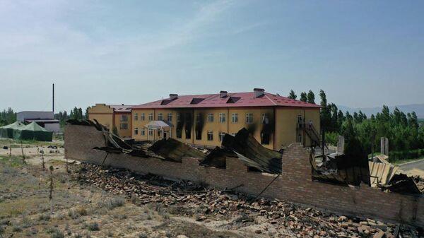 Ситуация на границе  Кыргызстана и Таджикистана - Sputnik Таджикистан