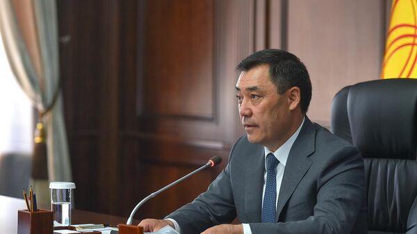 Президент Кыргызстана Садыр Жапаров - Sputnik Тоҷикистон