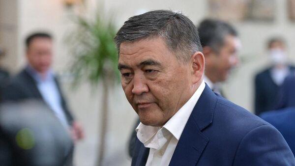 Парламент Киргизии утвердил назначение С. Жапарова на пост премьер-министра - Sputnik Тоҷикистон