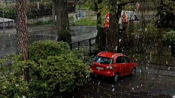 Снегопад в Берлине  - Sputnik Таджикистан