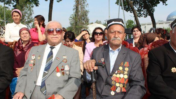 Празднование Дня Победы в Худжанде - Sputnik Таджикистан