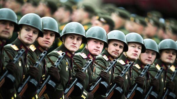 Военный парад в честь 76-й годовщины Победы - Sputnik Тоҷикистон