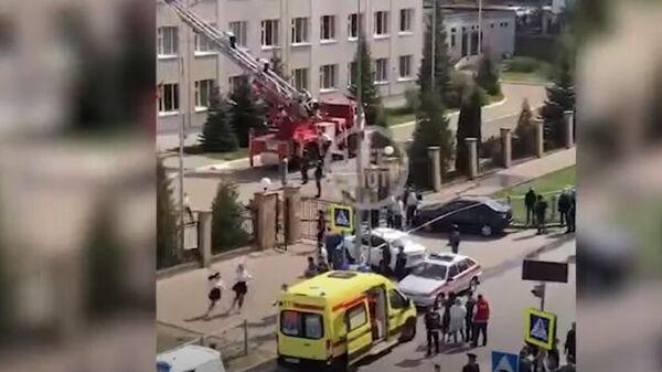 Стрельба в школе в Казани – погибли дети - Sputnik Тоҷикистон