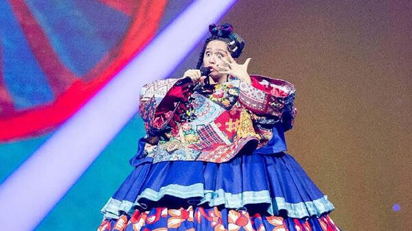 Образ Манижи на репетиции Евровидения - Sputnik Таджикистан