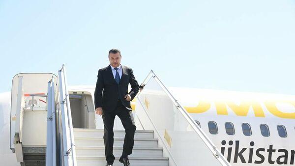 Премьер-министр Таджикистана Кохир Расулзода прибыл в Ташкент - Sputnik Тоҷикистон