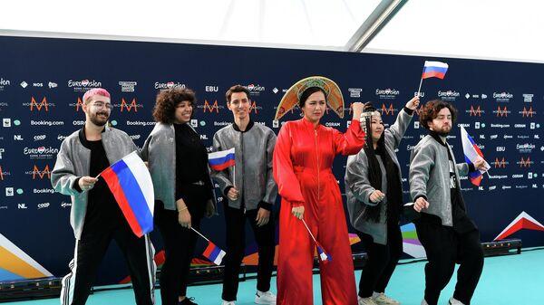Манижа на Евровидении - Sputnik Таджикистан