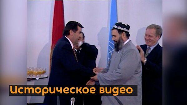 Ровно 24 года назад в Бишкеке решилась судьба Таджикистана  - Sputnik Таджикистан