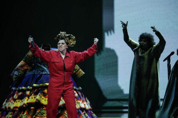Но Манижа, несмотря на предсказания скептиков, показала высший класс на сцене Евровидения - Sputnik Таджикистан
