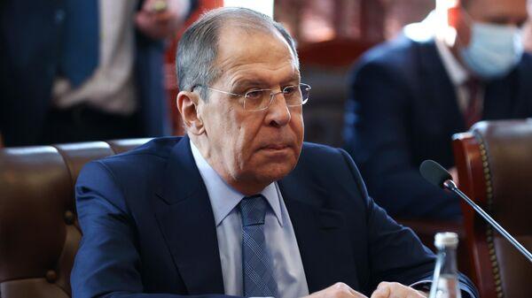 Визит главы МИД РФ С. Лаврова в Таджикистан - Sputnik Таджикистан