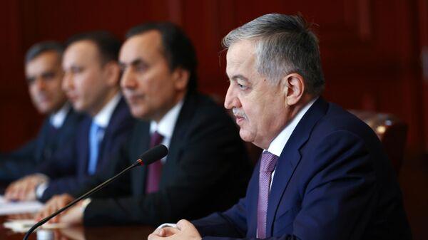 Глава МИД Таджикистана Сироджиддин Мухриддин  - Sputnik Таджикистан
