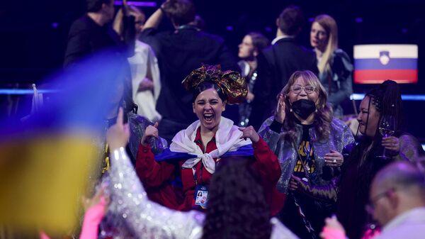 Россиянка Манижа на Евровидение-2021 - Sputnik Таджикистан