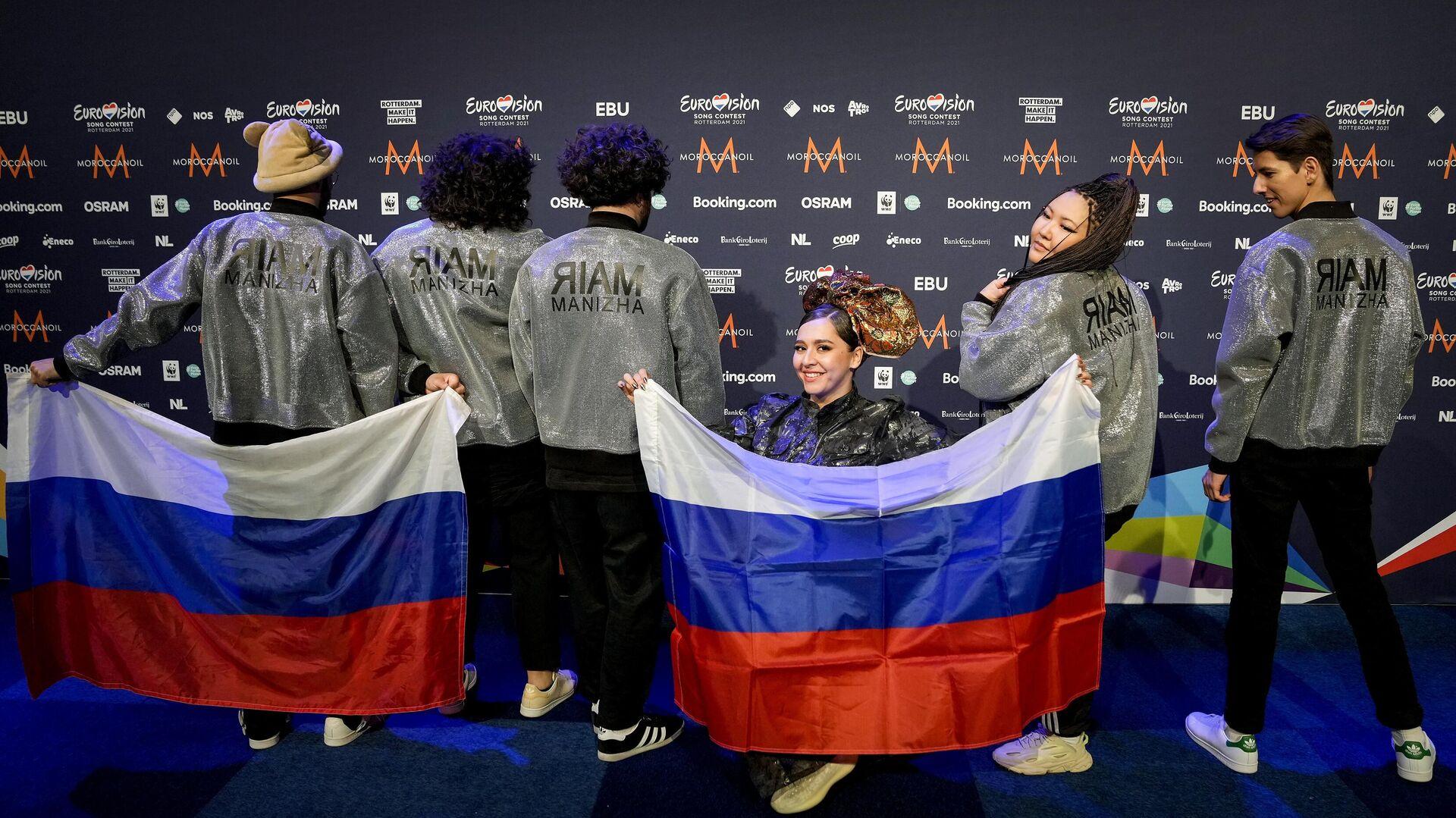 Россиянка Манижа на Евровидение-2021 - Sputnik Таджикистан, 1920, 19.05.2021