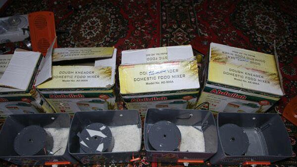 Агентство по контролю за наркотиками обнаружили метамфетамин спрятанный в миксерах - Sputnik Тоҷикистон