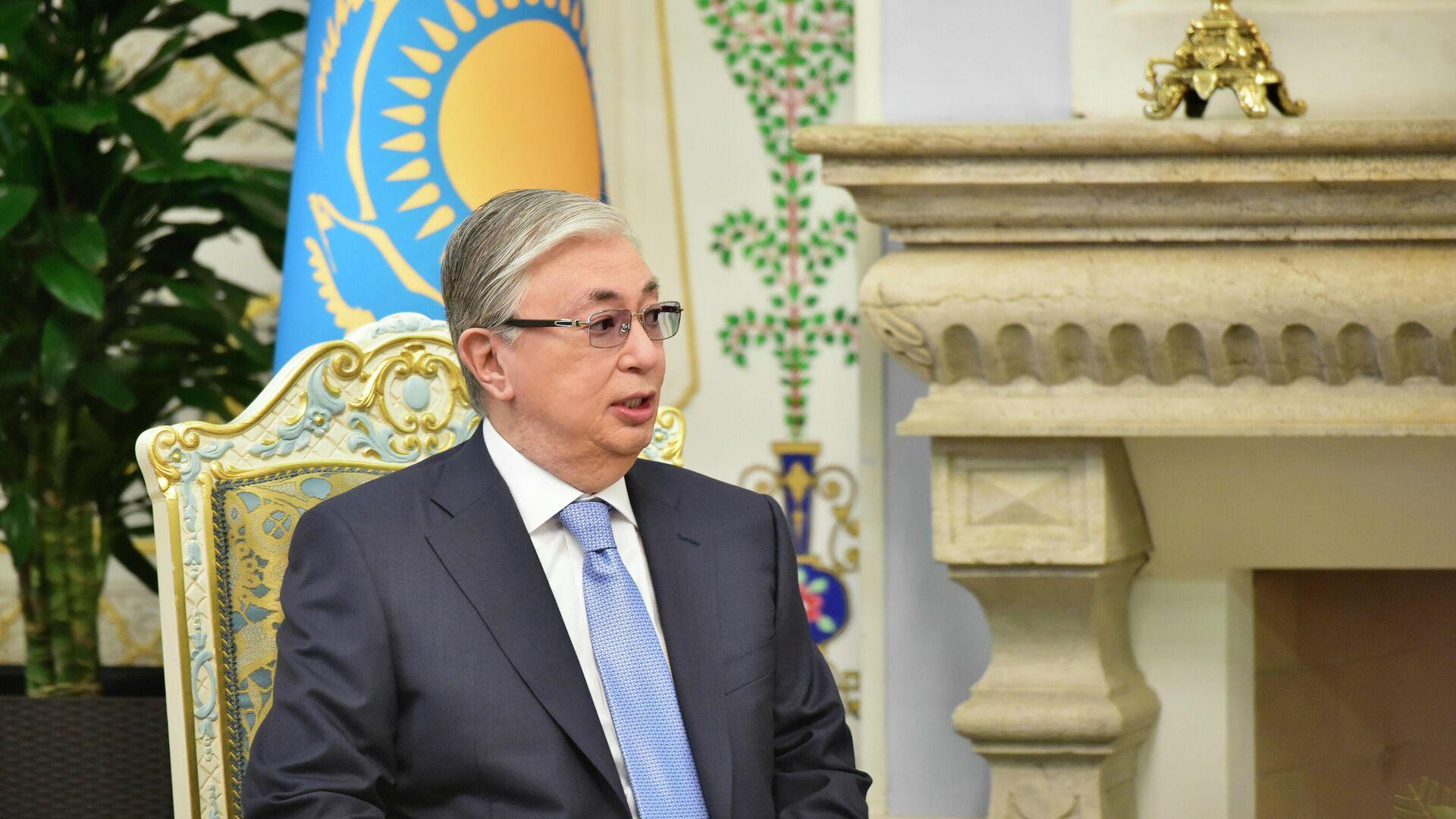 Президент Казахстана Касым-Жомарт Токаев - Sputnik Таджикистан, 1920, 06.08.2021