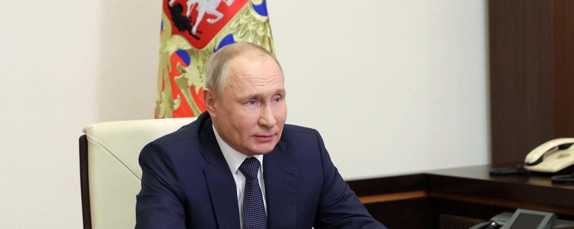 Президент РФ В. Путин провел совещание по реализации отдельных положений его послания Федеральному собранию - Sputnik Таджикистан, 1920, 04.06.2021
