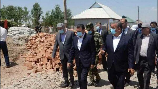 Расулзода посетил пострадавшие от стихии южные районы Таджикистана - Sputnik Таджикистан