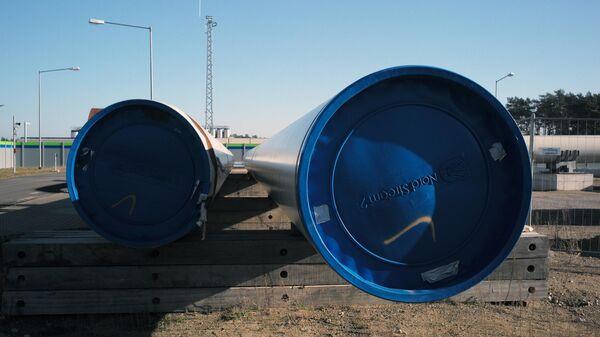 Строительство газопровода Северный поток-2  - Sputnik Таджикистан