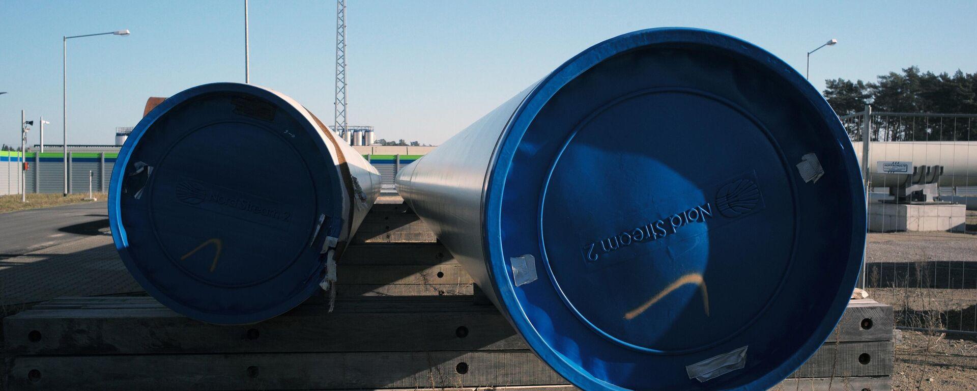 Строительство газопровода Северный поток-2  - Sputnik Таджикистан, 1920, 22.05.2021