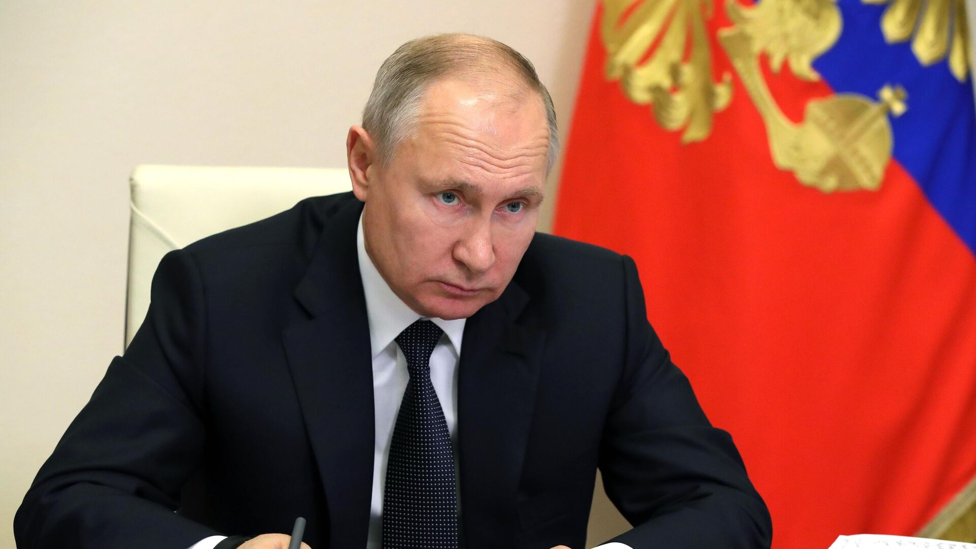 Президент России Владимир Путин - Sputnik Таджикистан, 1920, 14.06.2021