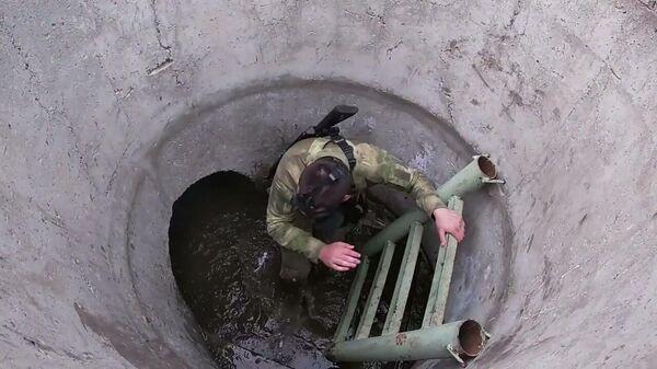 Этап Тропа разведчика на всеармейском этапе конкурса Отличники войсковой разведки-2021 - Sputnik Таджикистан