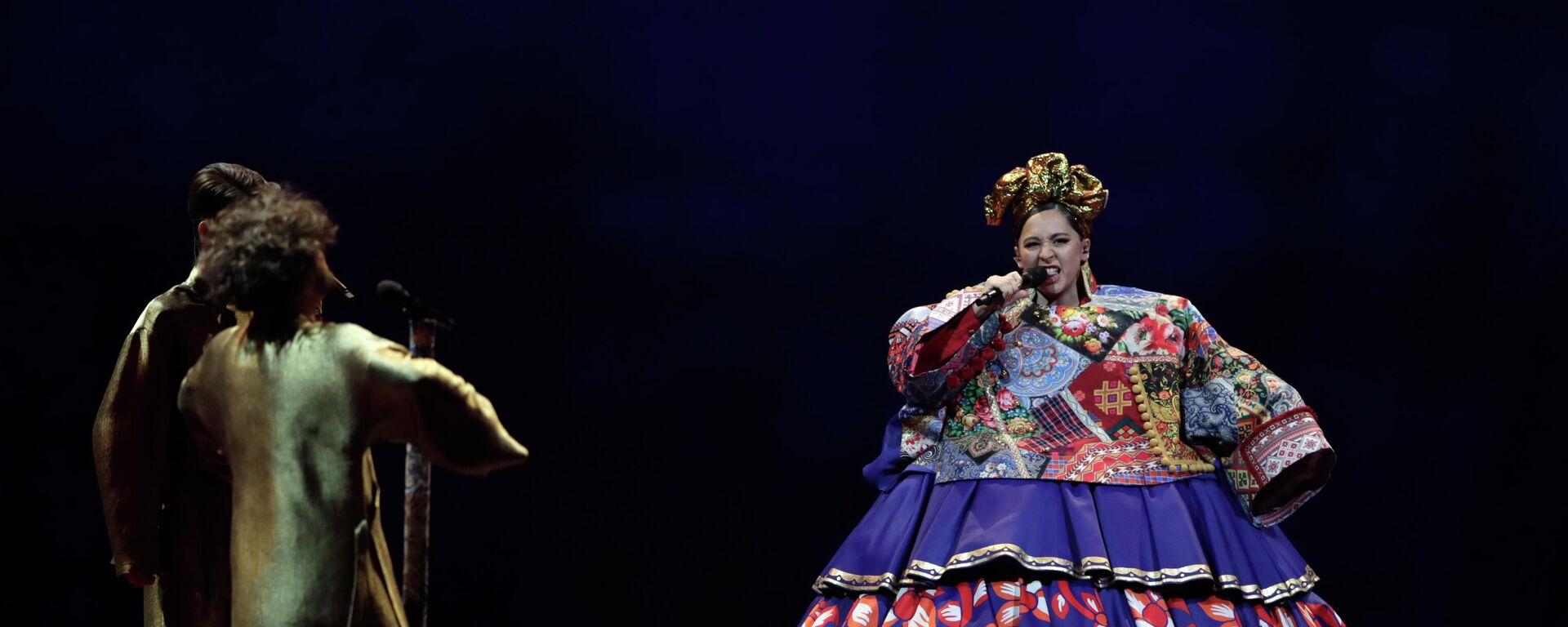 Манижа в финале Евровидения - Sputnik Таджикистан, 1920, 23.05.2021