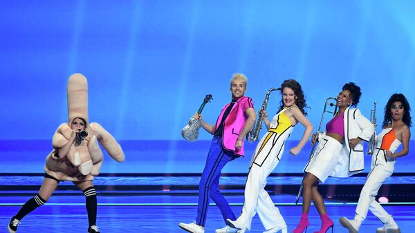 Йендрик от Германии на Евровидении  - Sputnik Таджикистан