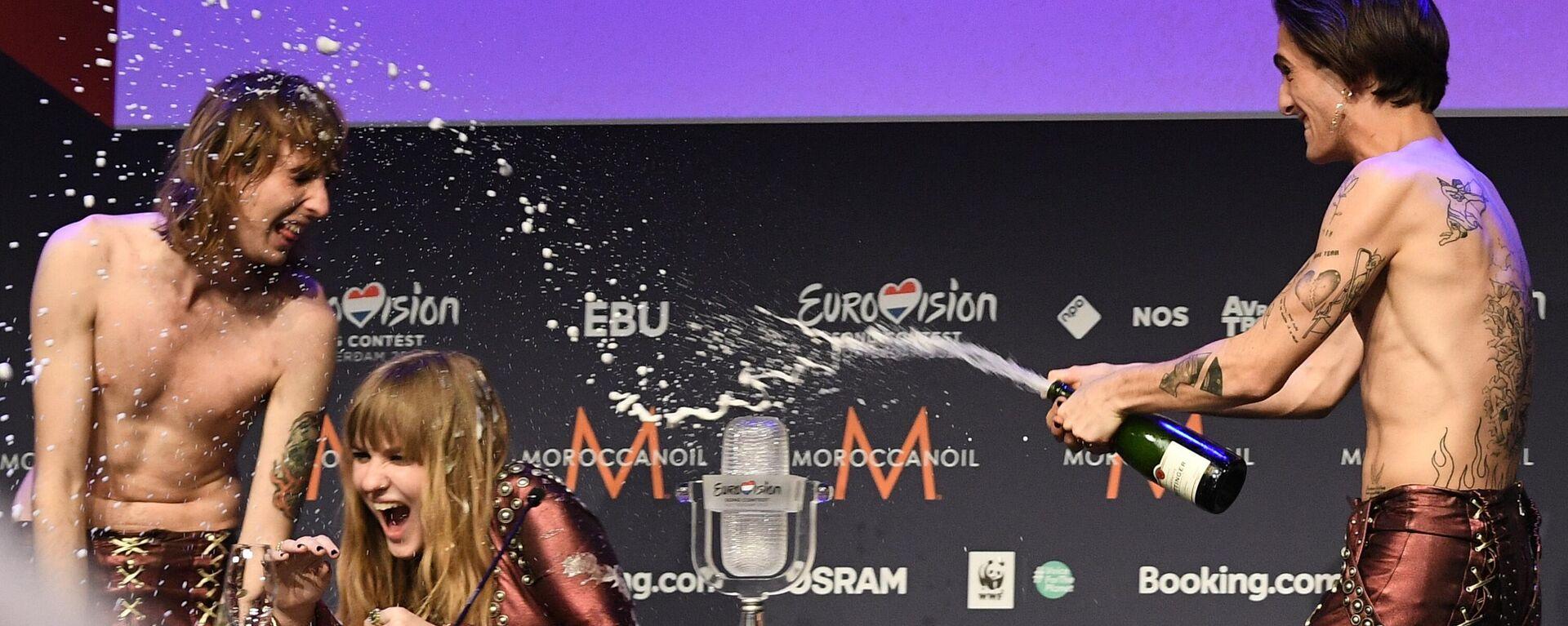 Итальянский рок победил на конкурсе Евровидение 2021 - Sputnik Таджикистан, 1920, 23.05.2021