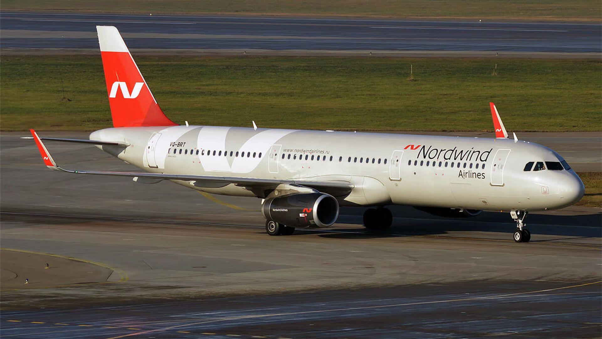 Самолет авиакомпании Nordwind - Sputnik Таджикистан, 1920, 27.05.2021