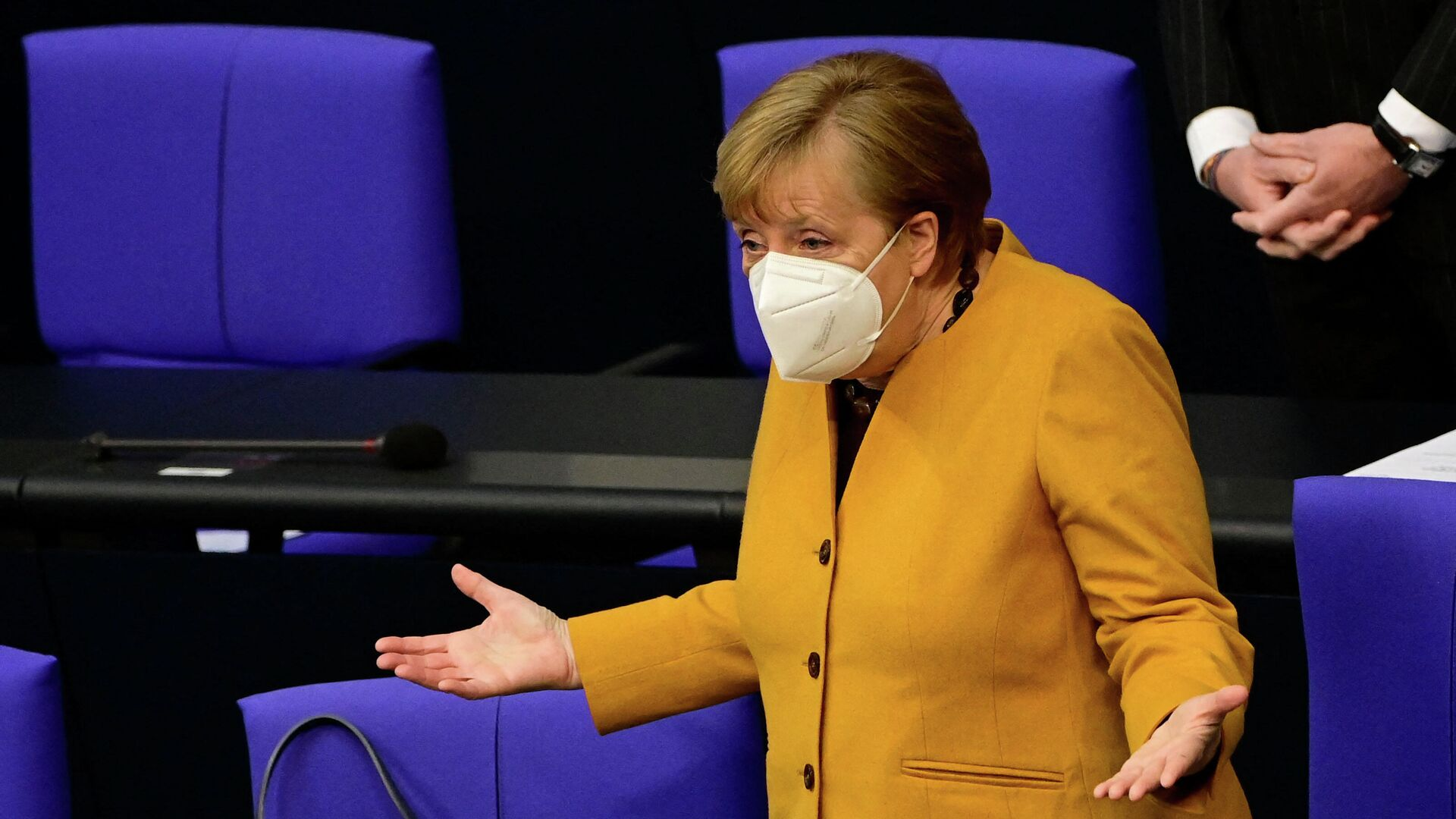Канцлер Германии Ангела Меркель - Sputnik Таджикистан, 1920, 04.09.2021