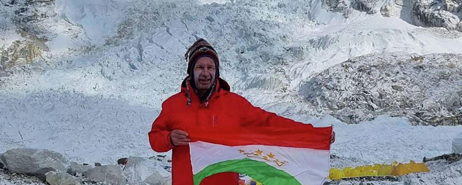 Альпинист Виталий Хинензон - Sputnik Таджикистан, 1920, 01.06.2021