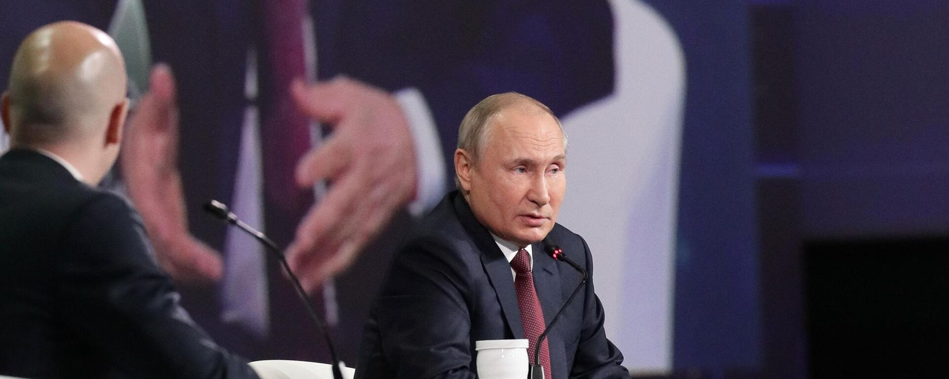 Президент РФ В. Путин - Sputnik Таджикистан, 1920, 04.06.2021