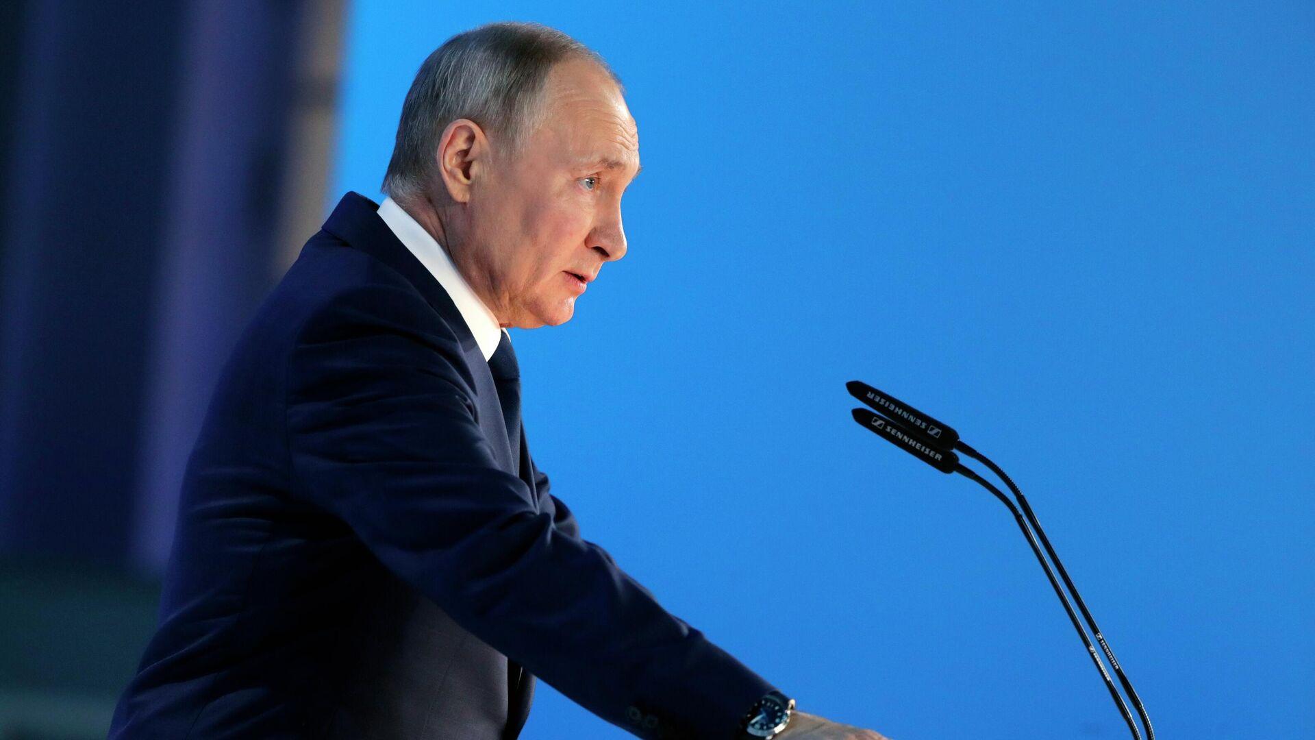 Ежегодное послание президента РФ Федеральному Собранию - Sputnik Таджикистан, 1920, 30.06.2021