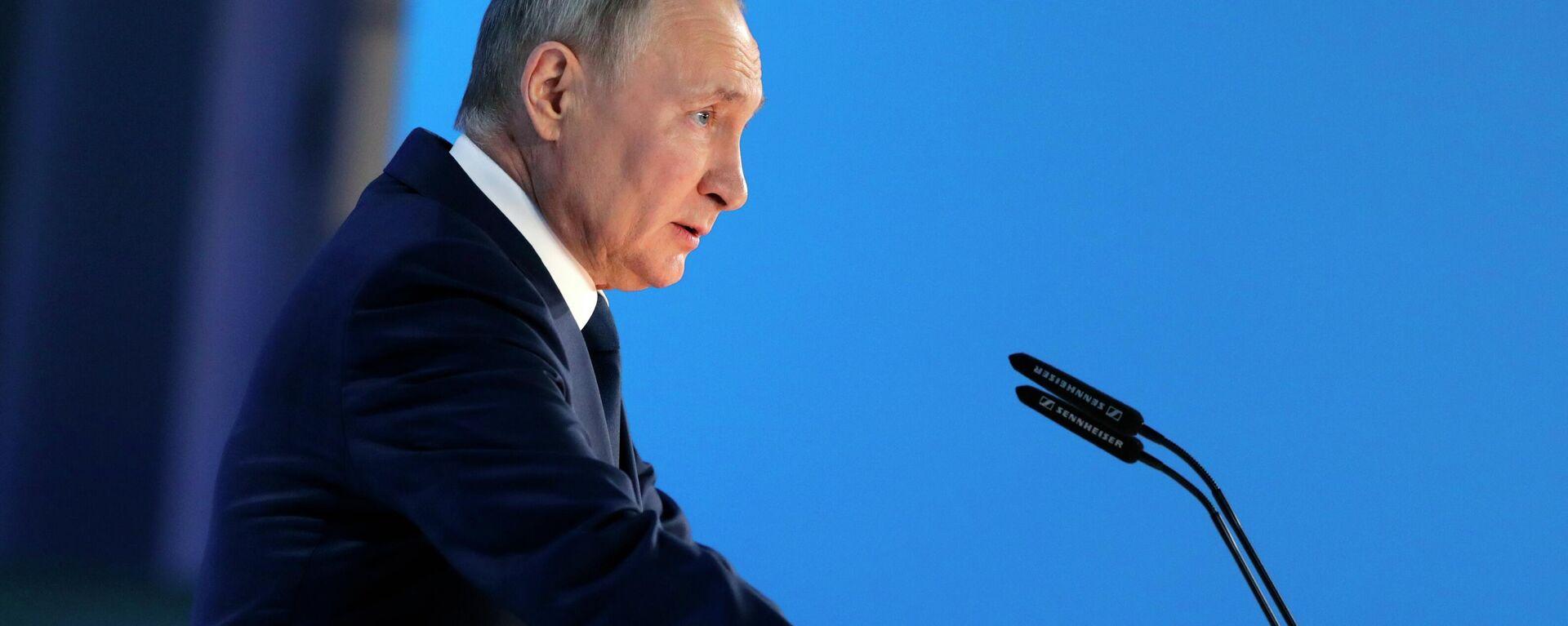 Ежегодное послание президента РФ Федеральному Собранию - Sputnik Таджикистан, 1920, 12.06.2021