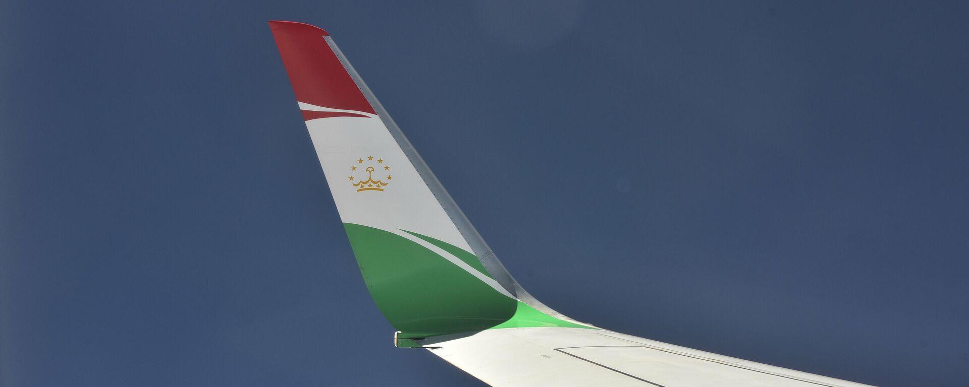 Вид из иллюминатора на крыло самолета президента Республики Таджикистан - Sputnik Таджикистан, 1920, 25.06.2021