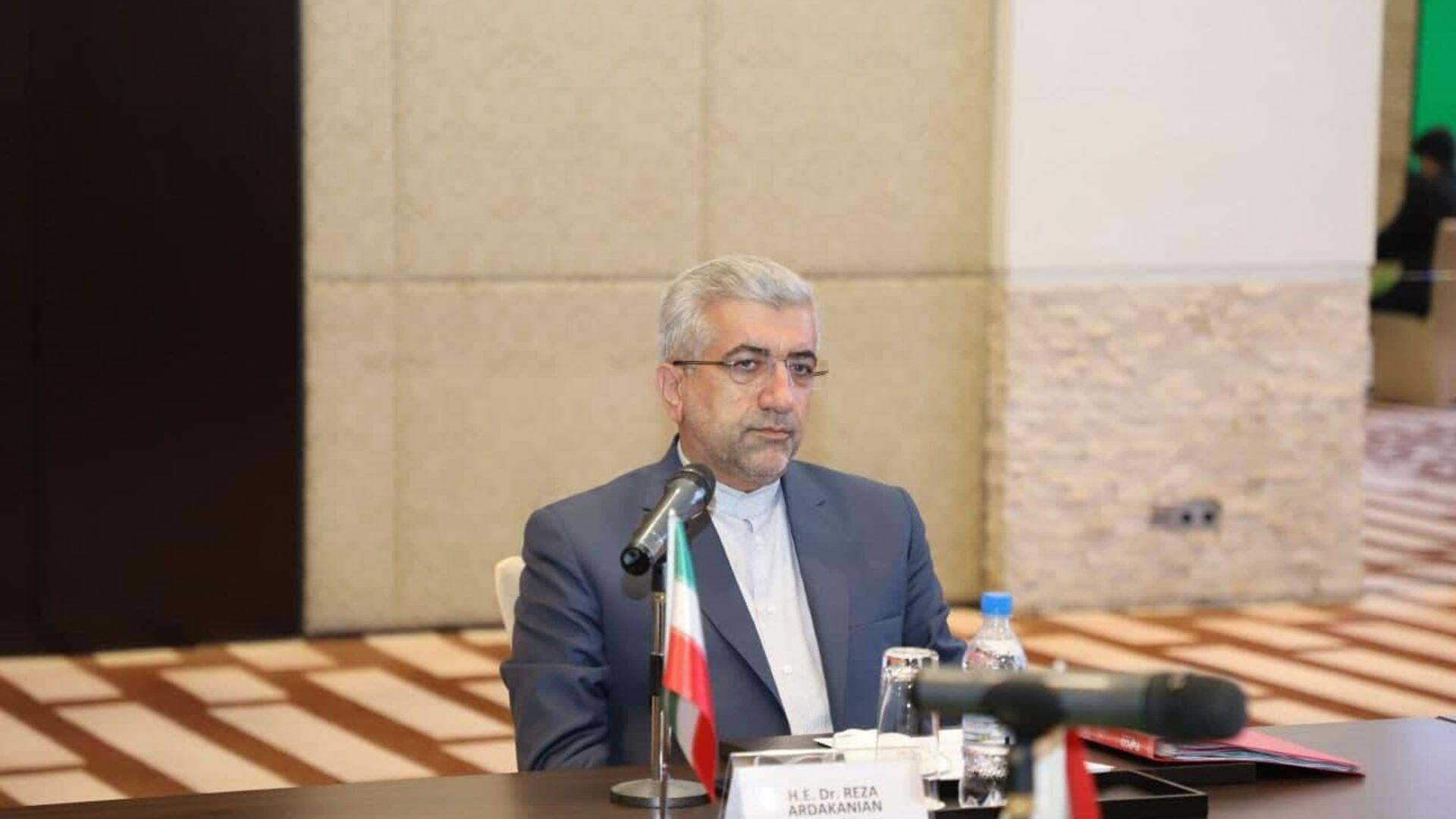 Министр энергетики Ирана  Реза Ардеканиан - Sputnik Таджикистан, 1920, 07.06.2021