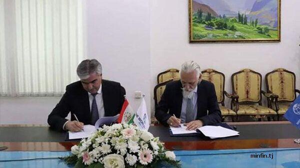 Минфин РТ и Всемирный банк подписали соглашение - Sputnik Таджикистан