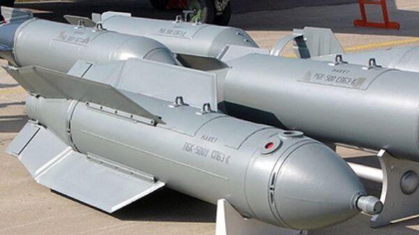 Российская унифицированная планирующая бомбовая кассета Дрель (ПБК-500У СПБЭ-К) - Sputnik Таджикистан