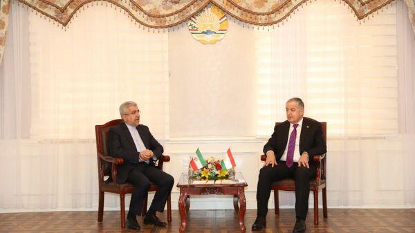 Встреча Министра иностранных дел Таджикистана с Министром энергетики Ирана  - Sputnik Таджикистан