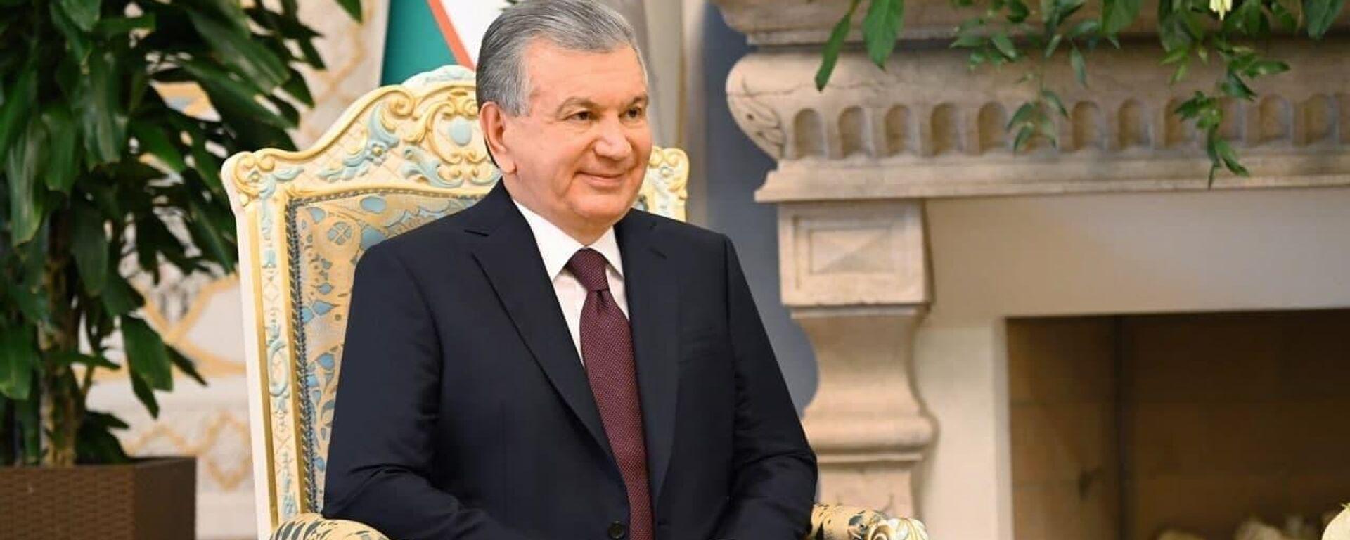 Президент Республики Узбекистан Шавкат Мирзиёев прибыл с официальным визитом в Республику Таджикистан - Sputnik Тоҷикистон, 1920, 13.09.2021