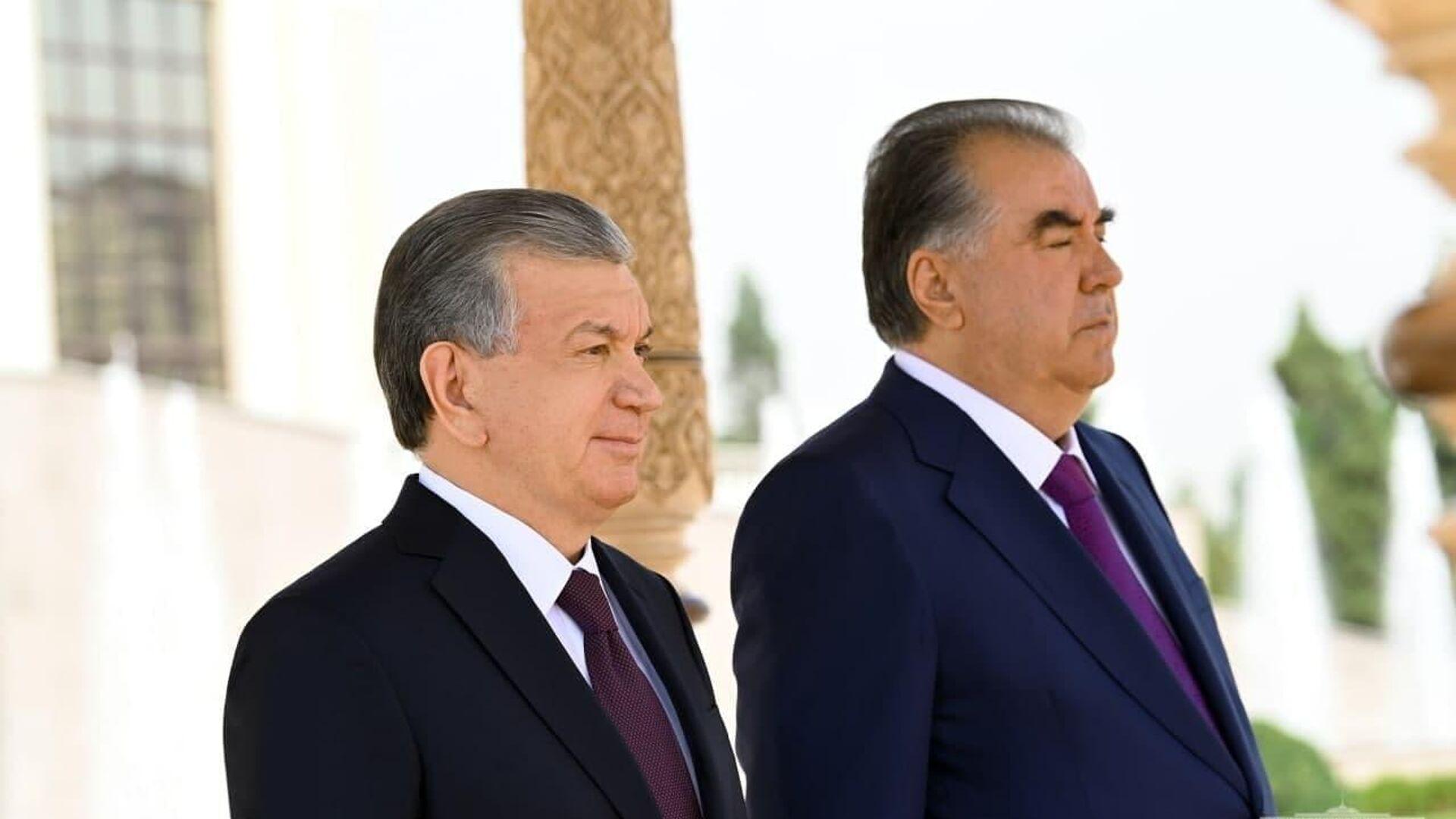 Президент Республики Узбекистан Шавкат Мирзиёев прибыл с официальным визитом в Республику Таджикистан - Sputnik Таджикистан, 1920, 24.06.2021