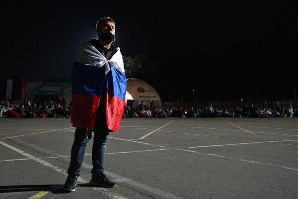 К финалу матча в фан-зонах остались самые стойкие и грустные болельщики. - Sputnik Таджикистан